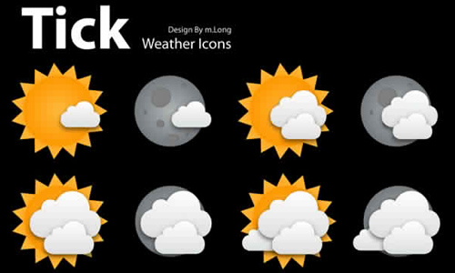 weather icon set 21 35 Free Weather Icon Set