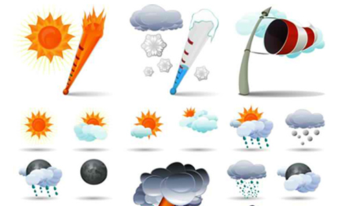 weather icon set 23 35 Free Weather Icon Set