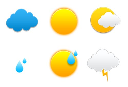 weather icon set 34 35 Free Weather Icon Set