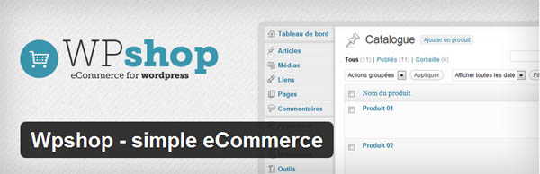 Wpshop - simple eCommerce