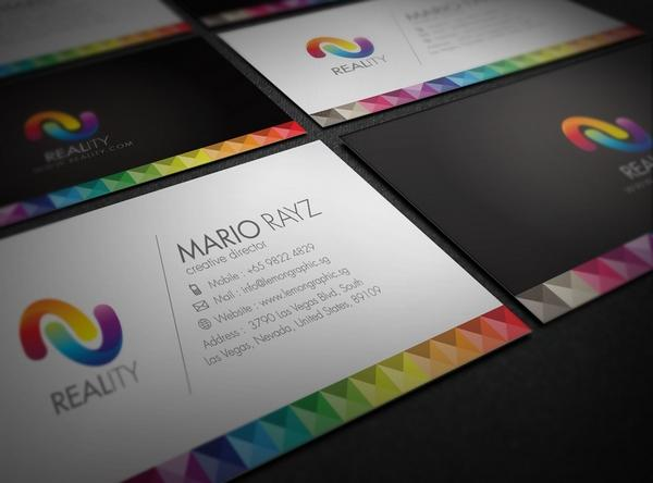 colorful business card inspiration 02 40 Colorful Business Cards Inspiration