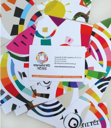 colorful business card inspiration 17 40 Colorful Business Cards Inspiration