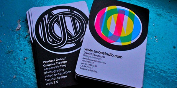 colorful business card inspiration 37 40 Colorful Business Cards Inspiration