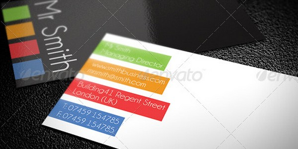 colorful business card inspiration 42 40 Colorful Business Cards Inspiration