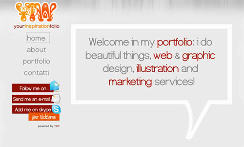 free portfolio html website templates 02 15 Free Portfolio HTML Website Templates