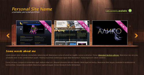 free portfolio html website templates 05 15 Free Portfolio HTML Website Templates