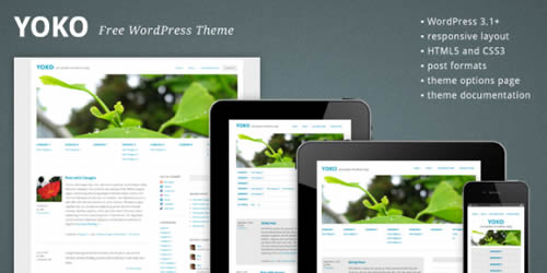 yoko wordpress mobile theme 14 Free Mobile WordPress Themes and Plugin
