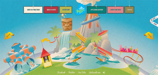 Adventure World Web Design Inspiration #9