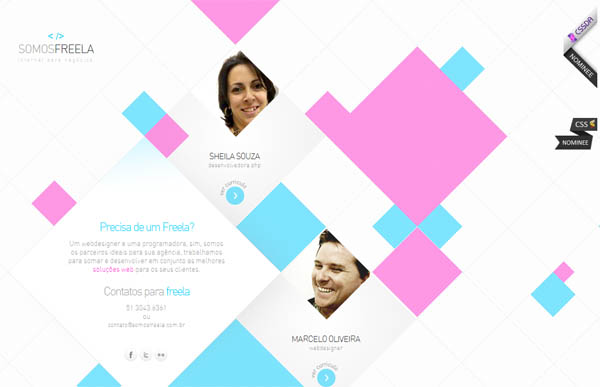 Somosfreela Web Design Inspiration #9