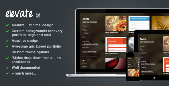 best portfolio wordpress themes 02 25 + Best Portfolio WordPress Themes for August 2012
