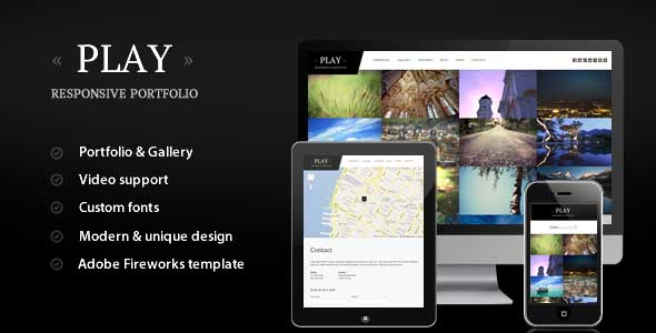 best portfolio wordpress themes 03 25 + Best Portfolio WordPress Themes for August 2012
