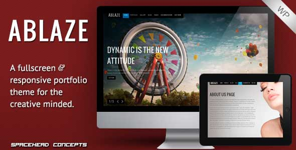 best portfolio wordpress themes 08 25 + Best Portfolio WordPress Themes for August 2012