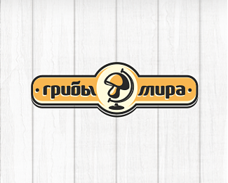 cool designs of mushroom logo inspiration 03 25 Cool Designs of Mushroom Logo