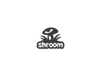 cool designs of mushroom logo inspiration 12 25 Cool Designs of Mushroom Logo