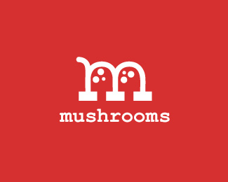 cool designs of mushroom logo inspiration 17 25 Cool Designs of Mushroom Logo
