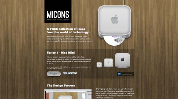 micons Web Design Inspiration #12