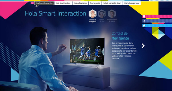 samsung smart tv Web Design Inspiration #10