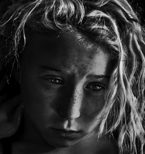 black and white portraits by betina la plante 03 Impressive Black and White Portraits by Betina La Plante
