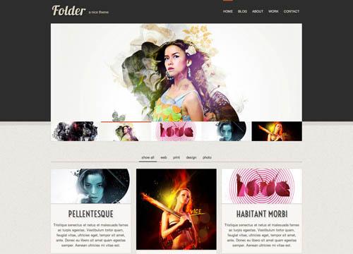 free responsive html website templates folder 12 Free Responsive HTML Website Templates