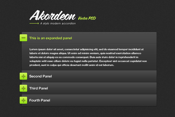 jquery accordion plugins 03 15 Best Useful jQuery Accordion Plugins