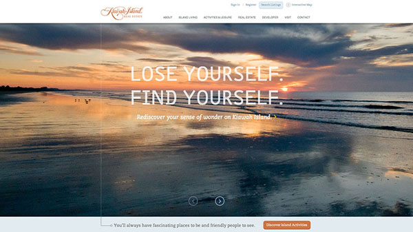 kiawah Web Design Inspiration #13