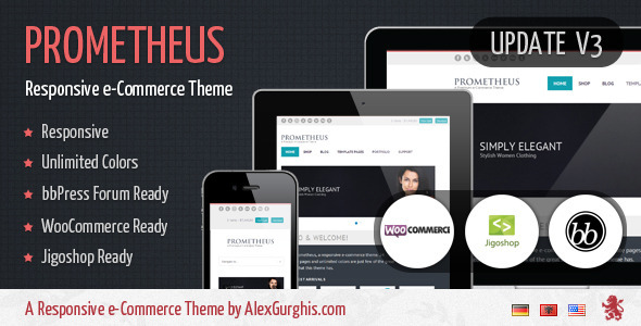 responsive ecommerce wordpress themes 13 27 Responsive Ecommerce Wordpress Themes