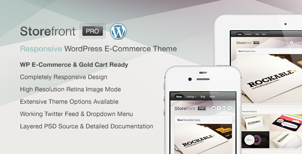 responsive ecommerce wordpress themes 26 27 Responsive Ecommerce Wordpress Themes