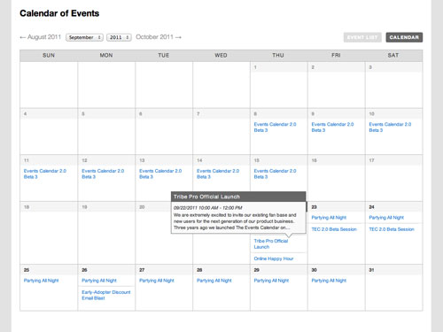 wordpress calendar plugins 04 15 Top WordPress Calendar Plugins