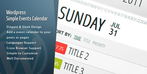 wordpress calendar plugins 08 15 Top WordPress Calendar Plugins