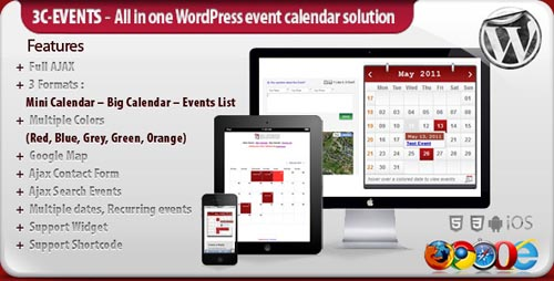 wordpress calendar plugins 14 15 Top WordPress Calendar Plugins