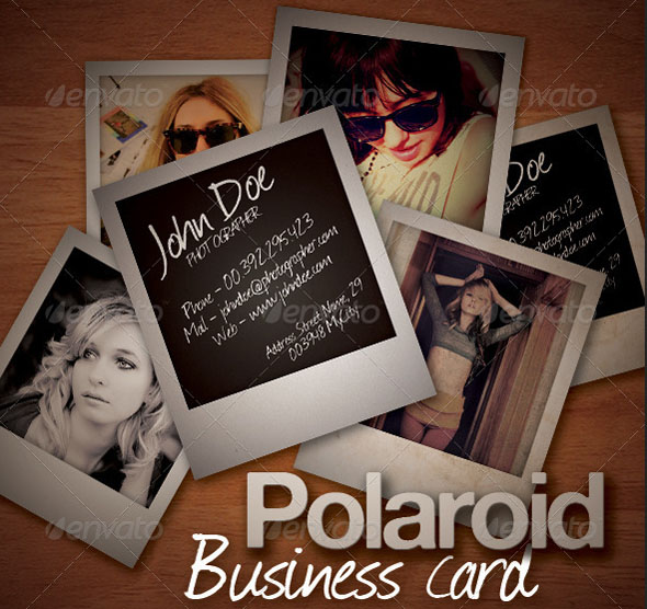 photography business card templates 07 15 Best Photography Business Card Templates