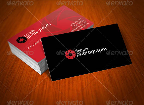 15 best photography business card templates smashfreakz for Photography business card template