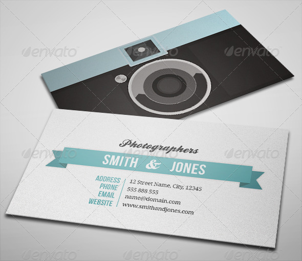 photography business card templates 14 15 Best Photography Business Card Templates