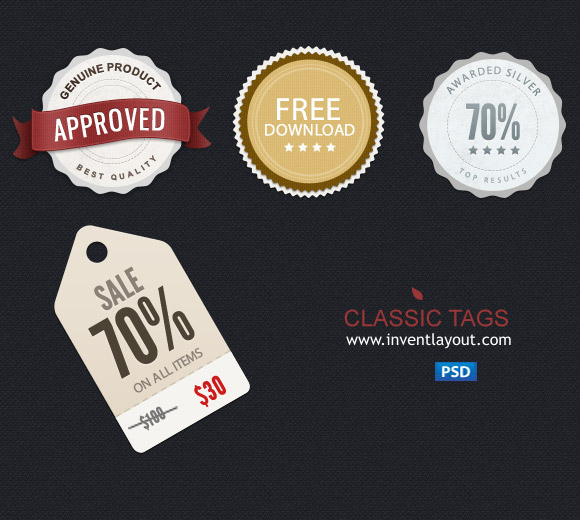 price sale tag psd 02 20 Free Price / Sale Tag PSD Templates for Ecommerce Website