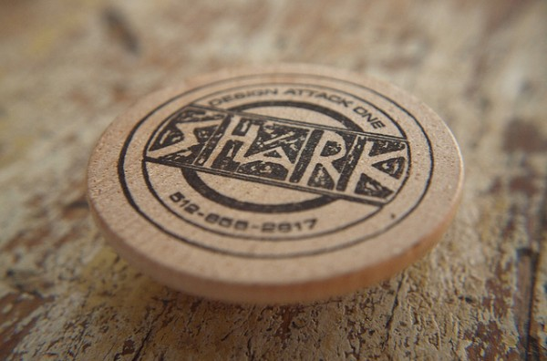 wood card 21 40 Creative Wooden Business Cards Inspiration