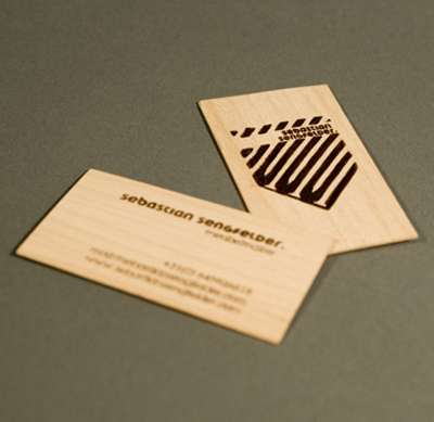 wood card 24 40 Creative Wooden Business Cards Inspiration