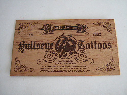 wood card 27 40 Creative Wooden Business Cards Inspiration