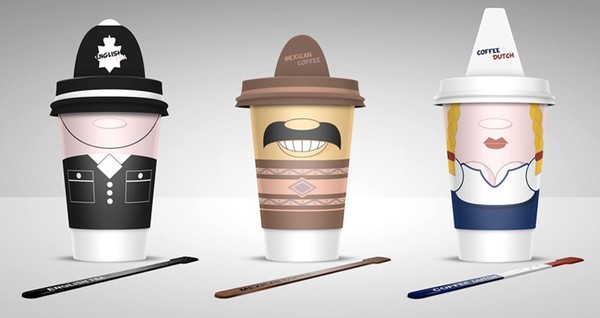 1 Coffee Cups Design Inspiration by Alex Litovka