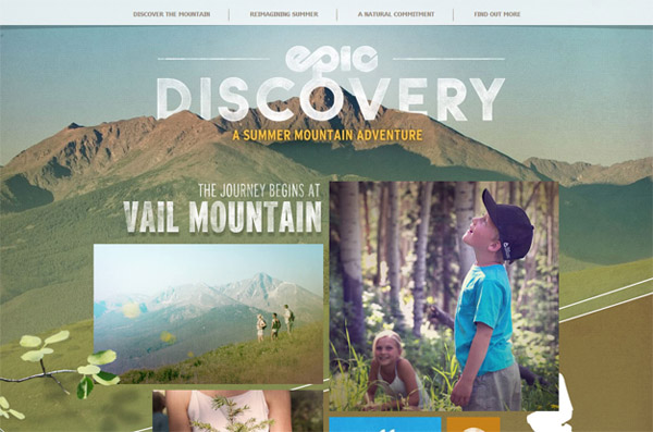 EpicDiscover Web Design Inspiration #18