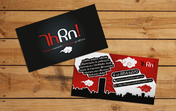 black business cards 06 40 Inspirational Black Business Cards