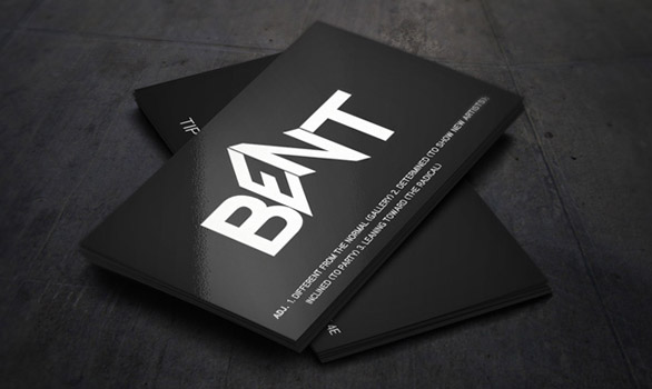 black business cards 25 40 Inspirational Black Business Cards