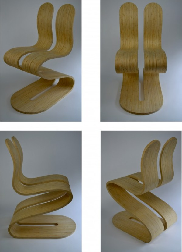 combinedB1 The Fluid Ribbon Chair by Michael d'Amato