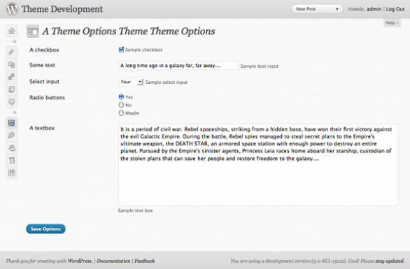 wordpress theme option framework 02 Top 8 WordPress Theme Option Frameworks