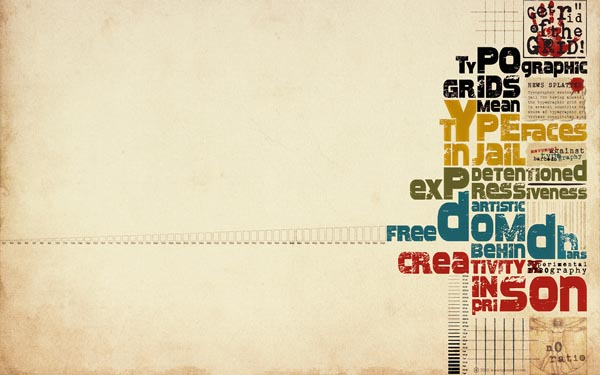 Typography wallpaper 27 30 Inspiring Typography Wallpapers