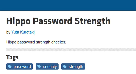10 jquery plugins for password strength meter