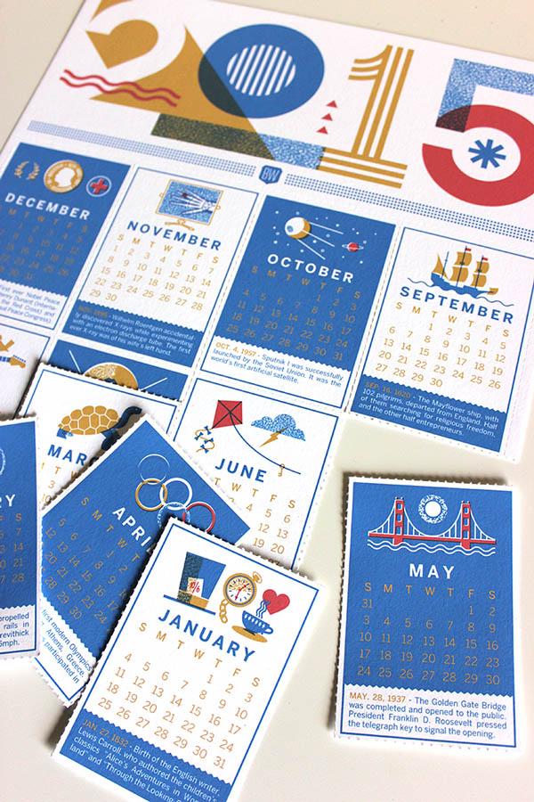 Calendar Design Photo : Inspirational calendar design for smashfreakz