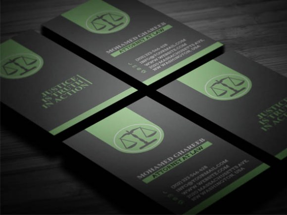 40 Awesome Lawyer Business Card for Your Inspiration
