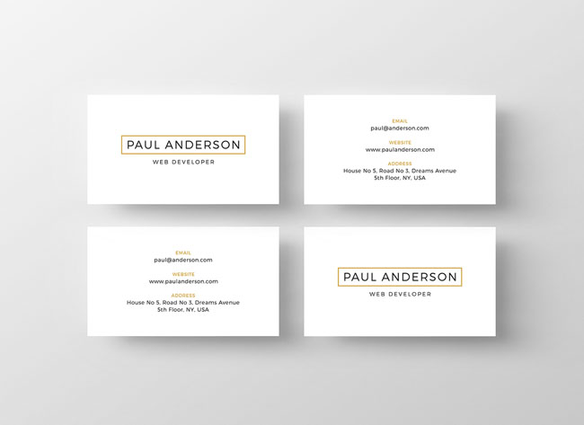 How to design a resume card