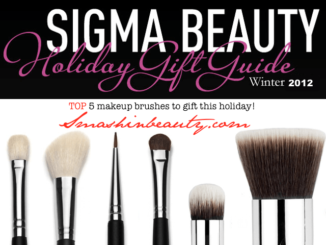 Sigma Beauty Holiday Gift Guide Top Makeup Brushes to Gift