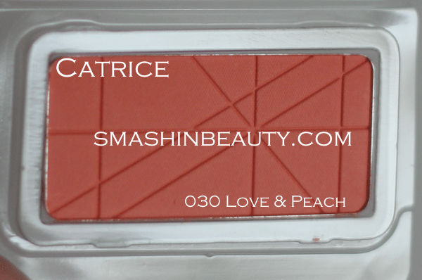 Catrice Blush Love & Peach Swatches Review